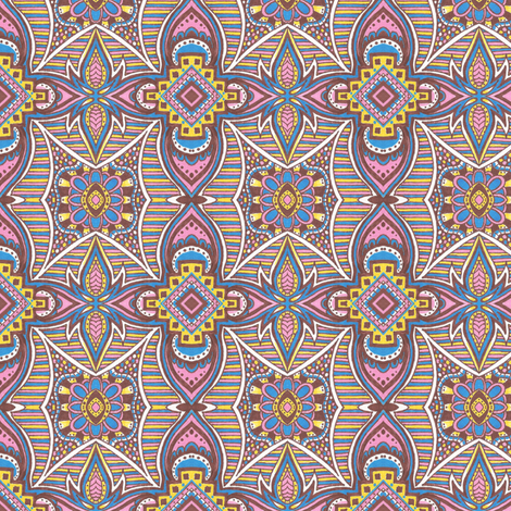 Ice Cream Social fabric by siya on Spoonflower - custom fabric
