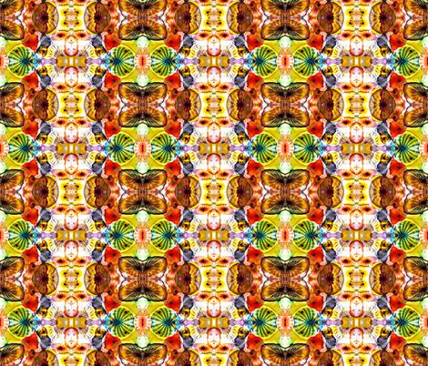 Glass in Warm Tones-ed fabric by glennis on Spoonflower - custom fabric