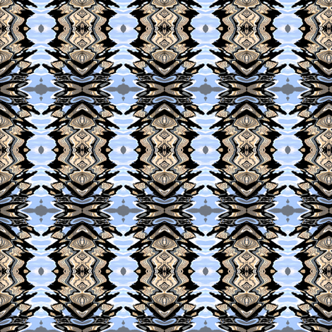 Lake Eola Reflections fabric by glennis on Spoonflower - custom fabric