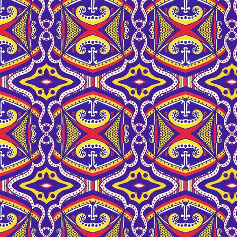 Under the Big Top fabric by siya on Spoonflower - custom fabric