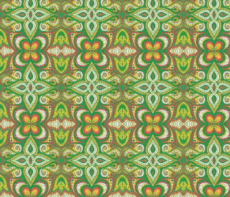 Garden Spice fabric by siya on Spoonflower - custom fabric