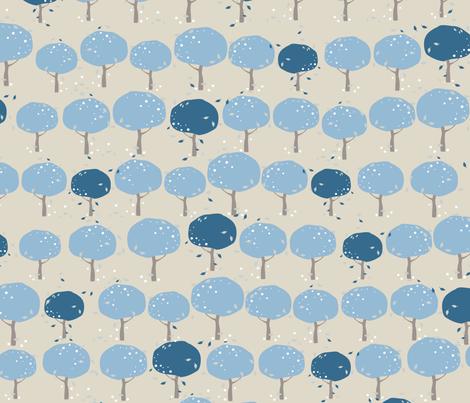 Raintree fabric by kunjut on Spoonflower - custom fabric
