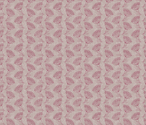 Redout fabric by kunjut on Spoonflower - custom fabric