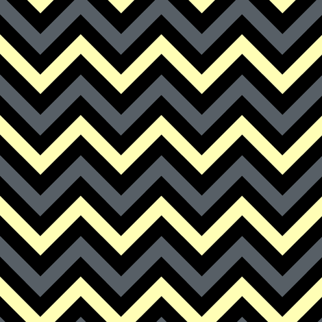 Stormy Chevrons fabric by pond_ripple on Spoonflower - custom fabric