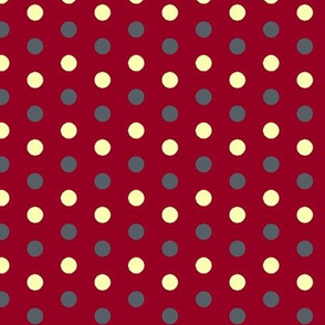 Red Stormy dots