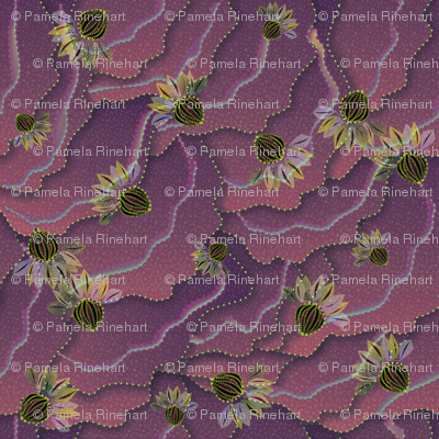 organic floral 1500 raspberry