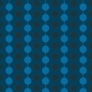 Linked Dots_ Blue and Navy