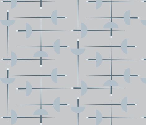 En Guarde! - Light fabric by owlandchickadee on Spoonflower - custom fabric