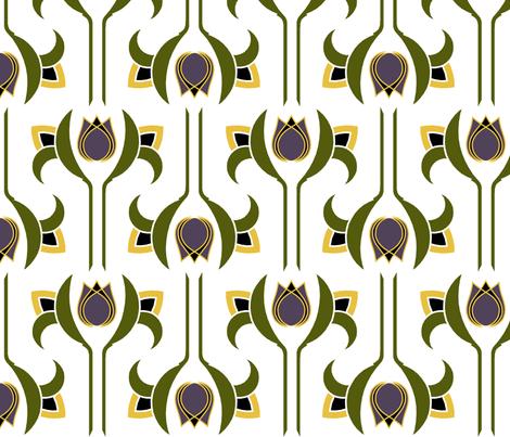 Art Deco 3 fabric by newmomdesigns on Spoonflower - custom fabric