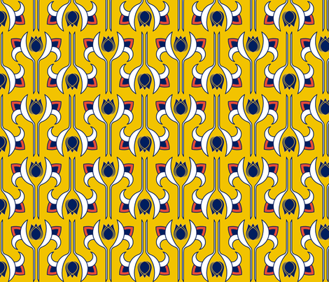Art Deco 5 fabric by newmomdesigns on Spoonflower - custom fabric
