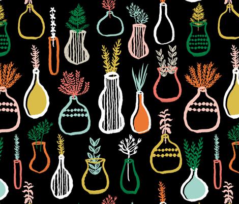 Herb Garden by Andrea Lauren fabric by andrea_lauren on Spoonflower - custom fabric