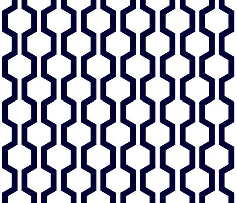 ABP lattice white fabric by amybethunephotography on Spoonflower - custom fabric