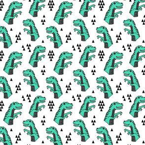 dinosaur // dinos dinosaurs kids trex t-rex dinos triangles kids baby