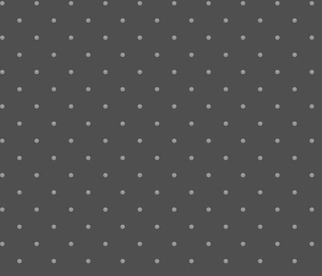 Teeny Monster Polka Dots - Grey fabric by jesseesuem on Spoonflower - custom fabric