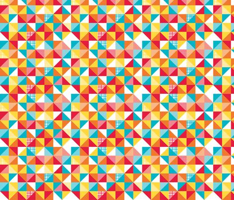 playful flags fabric by whimsiekim on Spoonflower - custom fabric
