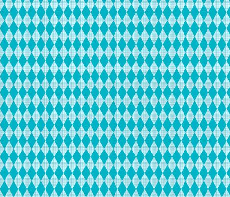 small blue diamond fabric by whimsiekim on Spoonflower - custom fabric
