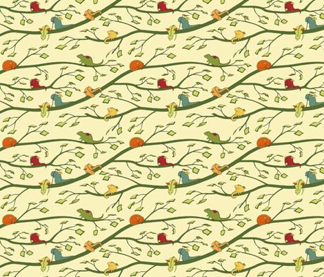 Baby Dragons (tinier) fabric by meduzy on Spoonflower - custom fabric