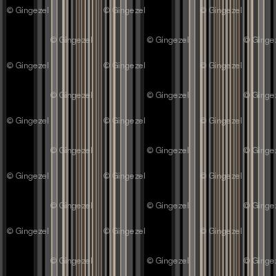 Black and Brown Stripe
