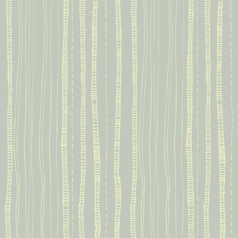 simple_stem_stripe-blue fabric by gsonge on Spoonflower - custom fabric
