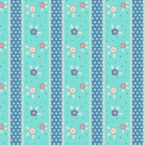 Vintage Wallpaper fabric by eppiepeppercorn on Spoonflower - custom fabric