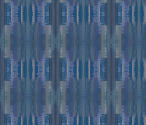 Tamara blue coordinating fabric © 2012 Gingezel™ inc. fabric by gingezel on Spoonflower - custom fabric