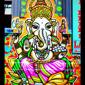 Melbourne Graffiti Ganesh