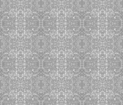 Lobelia Lace in Grayscale fabric by fabracadabra on Spoonflower - custom fabric