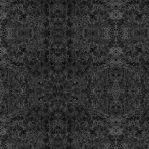 Lobelia Lace in Black and Gray