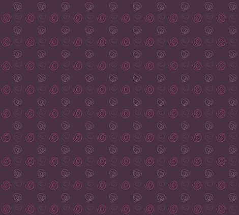 swirls_-_dark_purple fabric by sclues on Spoonflower - custom fabric