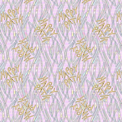 Happy Path Graffitti - Pastel fabric by glimmericks on Spoonflower - custom fabric