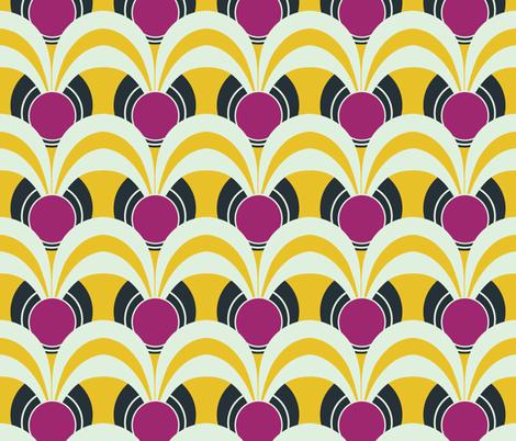 artdeco3 - speakeasy day dance fabric by krissymadrid on Spoonflower - custom fabric