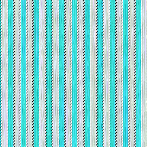Painterly Turquoise Stripe fabric by glimmericks on Spoonflower - custom fabric