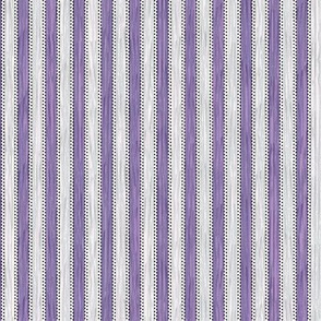 Painterly Lilac Stripe