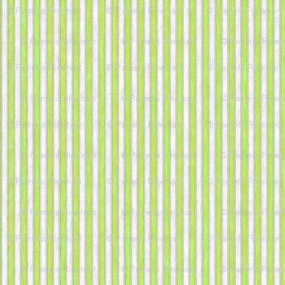 Painterly Green Apple Stripe