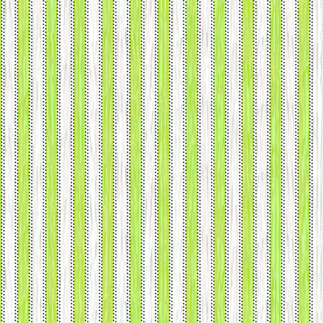Painterly Green Apple Stripe fabric by glimmericks on Spoonflower - custom fabric