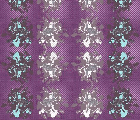 woodland rabbits fabric by katarina on Spoonflower - custom fabric