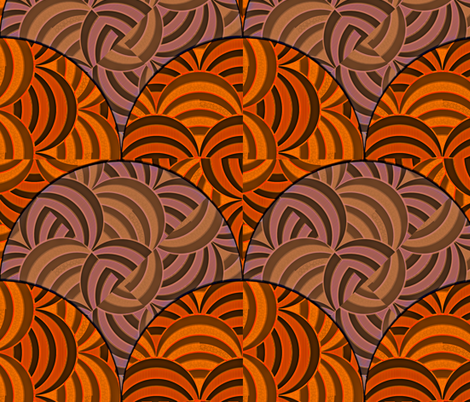 Juxtaposition - Pepperfest fabric by glimmericks on Spoonflower - custom fabric