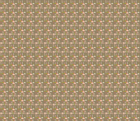 xoxoxoxx fabric by tinhearts on Spoonflower - custom fabric