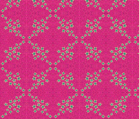 green_stars fabric by mammajamma on Spoonflower - custom fabric