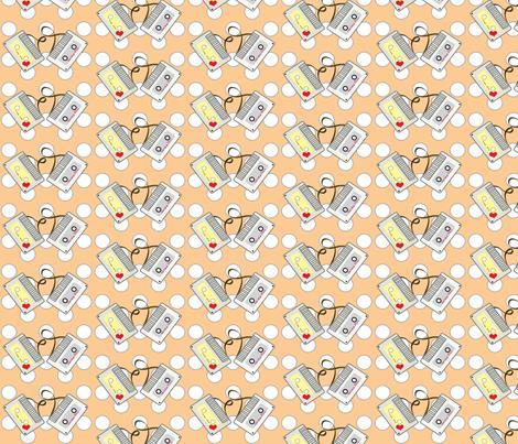 mixtape fabric by kiwicuties on Spoonflower - custom fabric