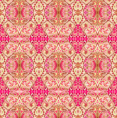 Daughter India fabric by edsel2084 on Spoonflower - custom fabric