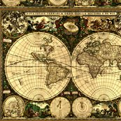 Old world map fabric whimzwhirled spoonflower rrrrrrrrrrmain u3shopthumb gumiabroncs Image collections