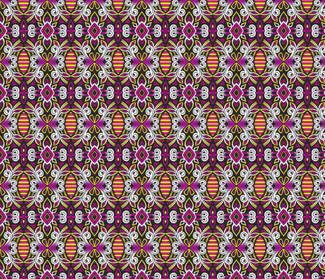 Neon Gypsy fabric by siya on Spoonflower - custom fabric