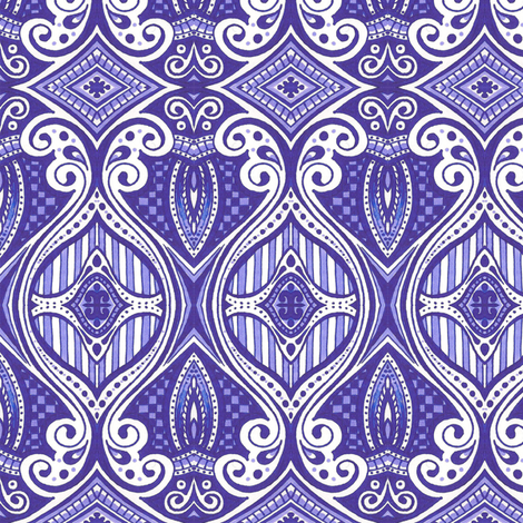 Navarre fabric by siya on Spoonflower - custom fabric