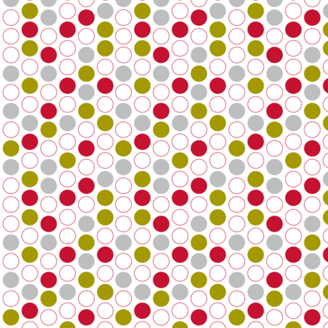 retro spot white fabric by cjldesigns on Spoonflower - custom fabric