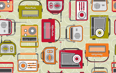 Retro radio reduced 70%