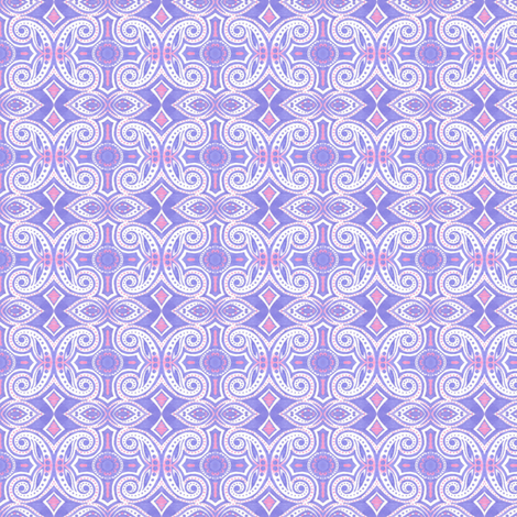 Lilac Curl fabric by siya on Spoonflower - custom fabric