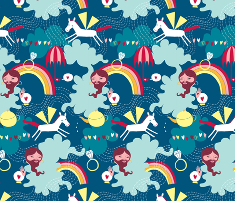 Anything Is Possible fabric by katyholmes on Spoonflower - custom fabric