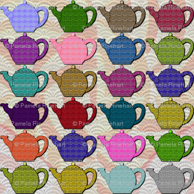 A Deco-rated Teapot Party - large