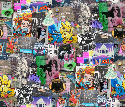 Brick Lane Collage